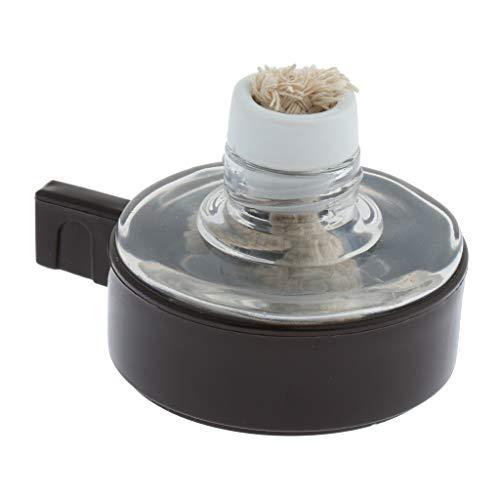 PETSOLA Lámpara De Alcohol Calentador De Quemador De Laboratorio para Hacer Café Joyero De Laboratorio con Mecha Libre