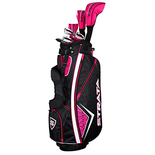 Callaway Women's Strata Complete Golf Set (11-Piece, Right Hand, Graphite)