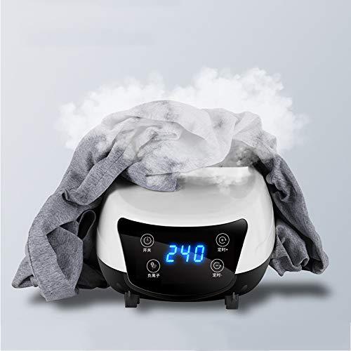 MGW Secadora de Ropa eléctrica secar Ropa Secador de Aire eléctrico Temporizador Interior 240min con Sistema de purificación de Iones Negativos 1500/2300 W