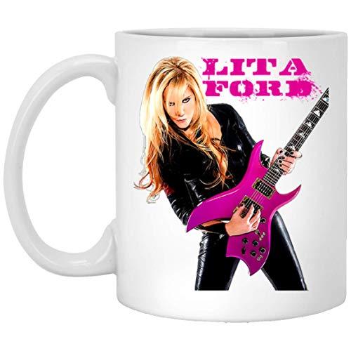 Lita Ford Guitarist - Taza, diseño de Ford