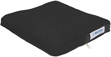 """BackJoy Comfort-Tech 2"""" Seat Cushion, Durable EVA Foam, Slip-Resistant, Breathable, Waterproof, Improves Posture, Comes with Removable Cover, Size Large (18"""