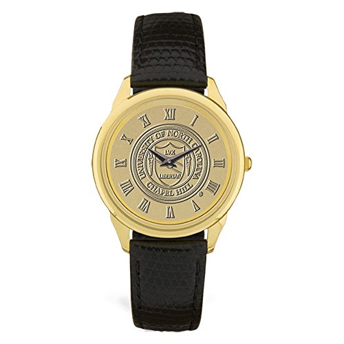 AdSpec NCAA Herren-Armbanduhr, Herren, Men's Wristwatch, Gold, Einheitsgröße