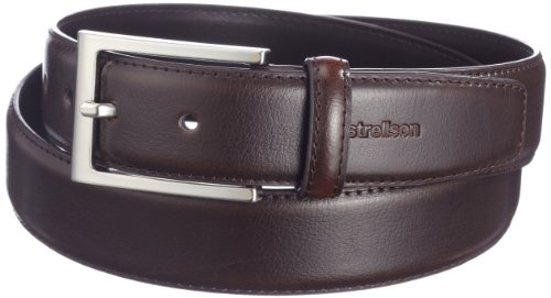 Strellson Premium - 3502 Belt 3,5 Cm, Cintura da uomo, Marrone(braun (52)), taglia produttore: 110
