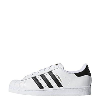 adidas Originals Women's Superstar Sneaker, White/Black/White, 6