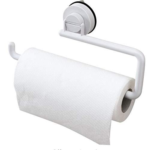 Toallero de papel, ventosa para colgar en la pared, soporte para rollo de papel, soporte para papel de cocina, rollo de papel, organizador de toallas de papel, estante de almacenamiento, toa