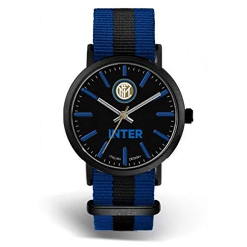 OROLOGIO POLSO - UFFICIALE INTER - 39MM - cinturino nylon - (orologio con scatola)