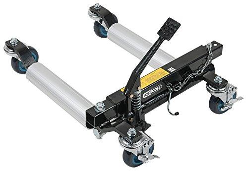 KS Tools 160.0414 Hydraulische Rangierhilfe, Auflagerollen aus Alu
