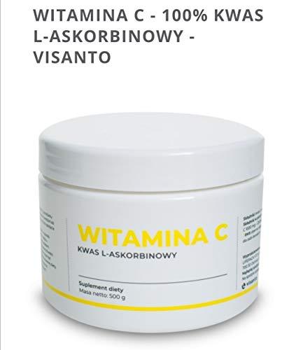 Vitamina C 100% acido L-ascorbico - VISANTO - J. Zięba Ukryte Terapie