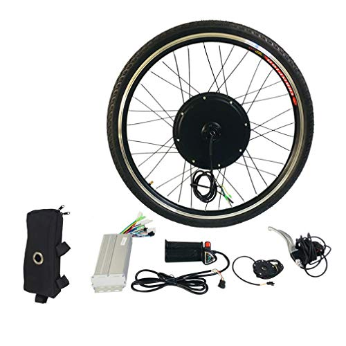 48V 1000W Electric E Bike Brushless Front Hub Motor Ebike Conversion Conversion Kit 26