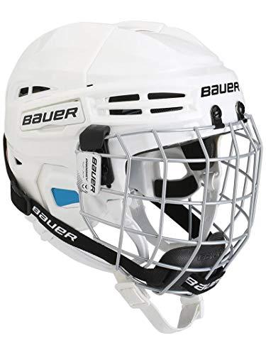 Bauer Prodigy Hockey Helmet Combo, Youth, White