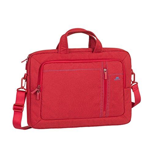 RivaCase 7530 Laptop Canvas bag 15.6 , Borsa per Laptop Fino a 15.6 , Rosso
