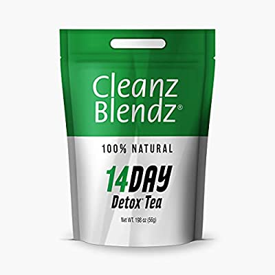 Basic Brands Cleanz Blendz 14-Day Detox Tea by Basic Organics
