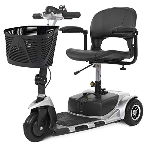 Fantastic Deal! Vive 3-Wheel Mobility Scooter - Electric Powered Mobile Wheelchair Device for Adults...