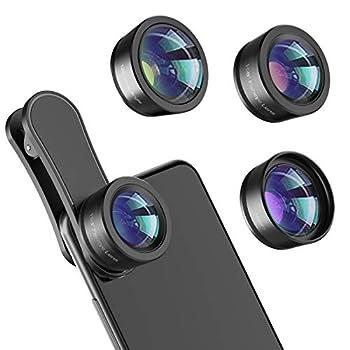 clip on phone lens