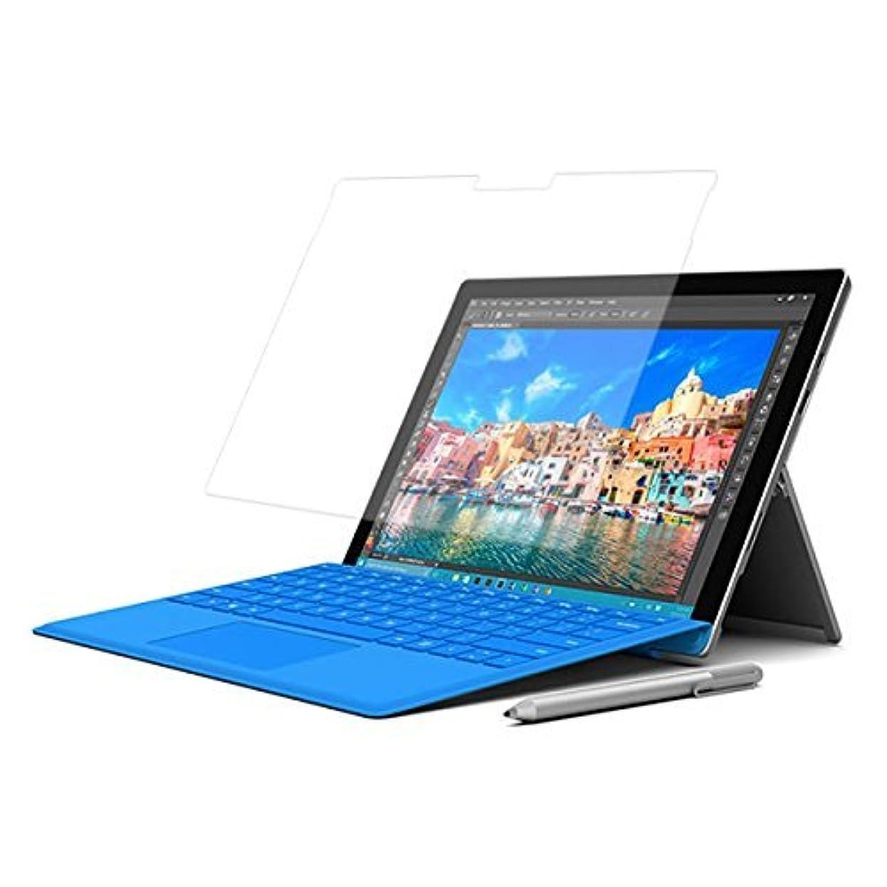 これまで引き算信念Microsoft Surface Pro 4 12.3インチ用【高硬度9Hアンチグレアタイプ】液晶保護フィルム 反射防止!強化ガラス同等の高硬度9Hフィルム