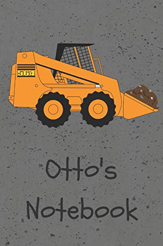 Otto's Notebook (JR Journals and Notebooks for Otto, Band 1)