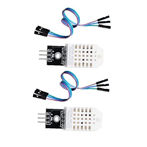 Bravosoleil Dht22 Digital Temperatur-feuchtigkeits-sensor-modul-monitor Ersetzen Sht11 Sht15 Für Arduino Elektronische Praxis Diy 2st