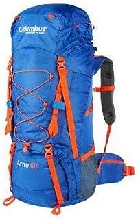 Arno 60 (con Funda DE Lluvia) Mochila Montañismo, Alpinismo y Trekking, Adultos Unisex, Multicolor (Multicolor), Talla Única