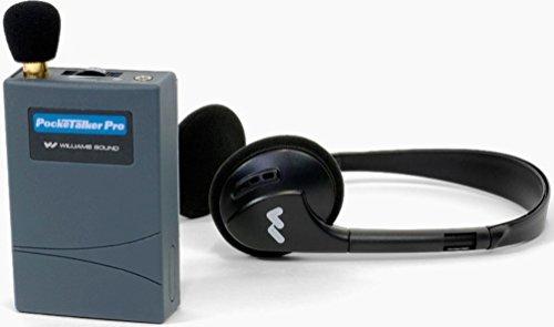 Williams Sound PKT PRO1-3 Pocketalker PRO System Amplifier with Folding Headphone