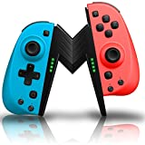 Mandos para Nintendo Switch, ECHTPower Bluetooth Wireless Controller, Mando de Reemplazo Izquierdo y...