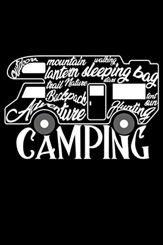 Camping: Camping Lined Notebook incl. Table of Contents on 120 Pages   Camping Camping Journal   Gift Idea for Motor home, vacation, camper van and motor home