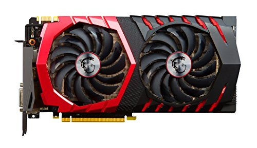 MSI GeForce GTX 1080 Gaming X+ 8GB Nvidia GDDR5X 1x HDMI, 3x DP, 1x DL-DVI-D, 2 Slot Afterburner OC, VR Ready, 4K-optimiert, Grafikkarte