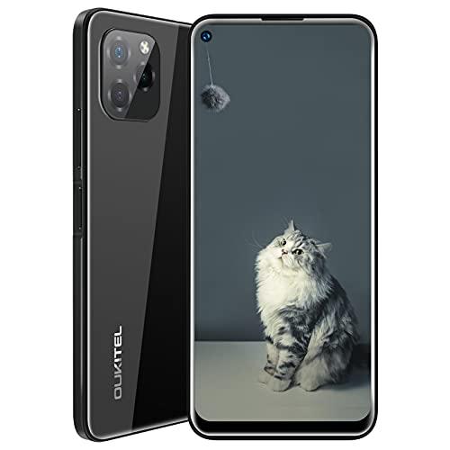 OUKITEL C21 Pro SIMフリースマホ本体 最新のAndroid11.0システム 6.39インチ HD+ の大画面 (SONY)21MP+2MP+0.3MP 3眼カメラ 8MP AI前側カメラ 4GB RAM+64GB ROM(256 GB拡張可能)4000mAhバッテリー 4GデュアルSIMフリー携帯電話 顔と指紋のロック解除 技適認証済 1年間の保証