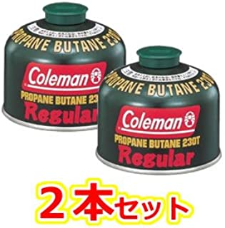 まとめ買い2本セット Coleman(コールマン) 純正LPガス燃料[Tタイプ]230g 5103A230T