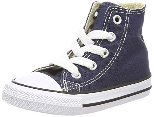 Converse Unisex-Kinder Youths Chuck Taylor All Star Hi Sneaker, Blau (Navy), 27 EU