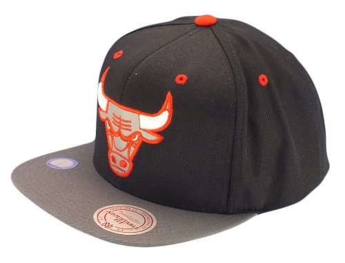 Mitchell And Ness - Casquette Snapback Homme Chicago Bulls XL Reflective 2Tone - Black/Grey
