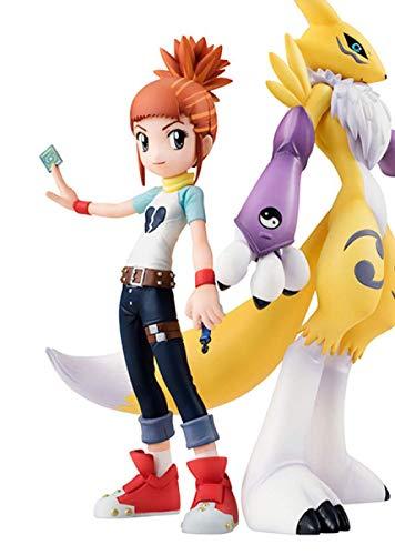 UanPlee-SC Geschenk Statue Anime Figuren Digimons Abenteuer Digitale Monster Renamon 15 cm Makino Ruki PVC Action-Figuren Sammeln Modell Spielzeug