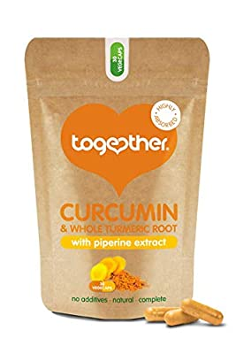Together Organic Turmeric and Curcumin Vegicaps - Pack of 30
