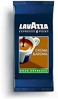 Lavazza Crema & Aroma - Cápsulas de café espreso (100 Unidades)