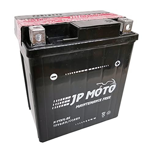 Batería Moto YTX7L-BS AGM 12 V 6 Ah CCA/-18º 85 Amp