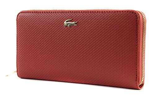 Lacoste Chantaco L Zip Wallet Mineral Red