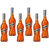 Licor de Mandarina Marie Brizard - Caja de 6 Botellas de 70 cl