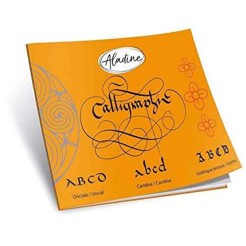 1 Kalligraphie Zubehör, Übungsheft lateinisch, 18 x 15 cm, efco 4551052