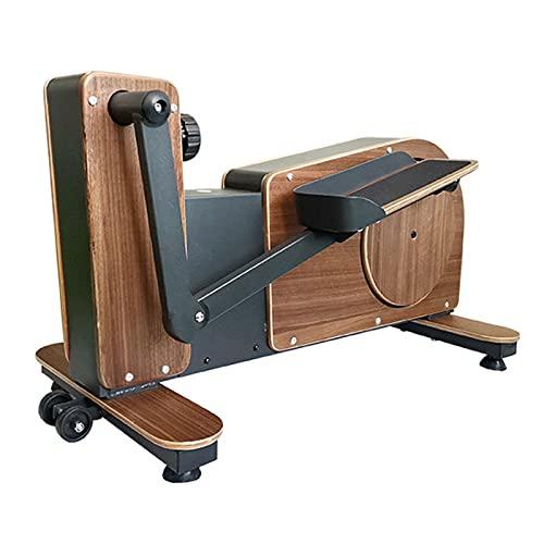 Pequeña Máquina Elíptica para El Hogar Controlada Magnéticamente, Paso A Paso Aeróbico Silencioso, Equipo De Fitness Interior para Mujeres, Rodamiento De 150 Kg