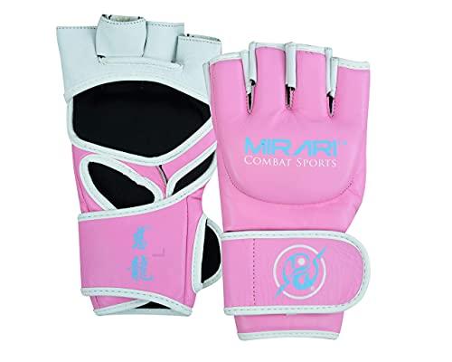 MIRARI MMA-Handschuhe, Größe L, Rosa /...