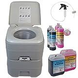 BB Sport Toilette Portatile Chimico Campeggio WC Opzionalmente Disponibili: liquidi Sanitari