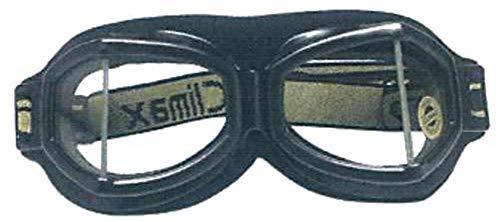Climax Brille 518 schwarz Motorrad Brille