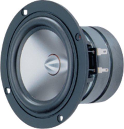 Visaton VS-TI100 - Lautsprecher (Verkabelt, 40 W, 8 Ohm, Aluminium)