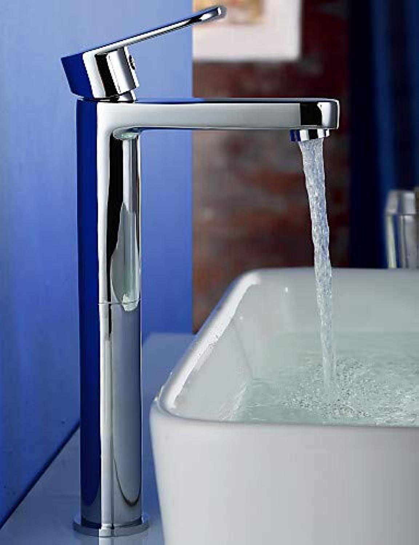 Mainstream home LPZSQ Tippen Sie auf zeitgenssische verchromt Messing EIN Loch einzigen Griff Waschbecken Wasserhahn, wei  652