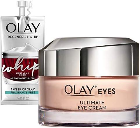 Olay Ultimate Eye Cream for Wrinkles Puffy Eyes Dark Circles 0 4 Fl Oz Whip Face Moisturizer product image