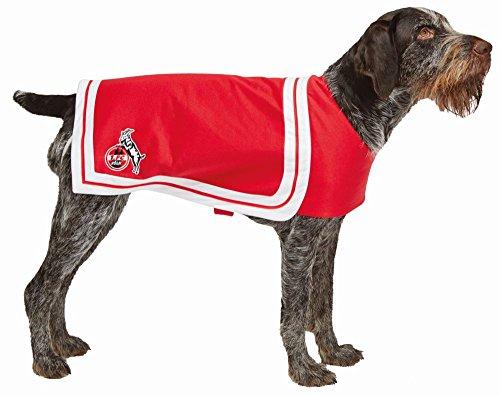 1.FC Köln Hundekostüm Hundecape Fan Zubehör Karneval Fasching Gr.M