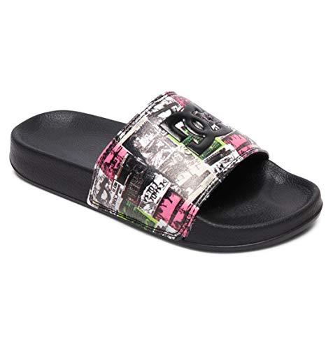 DC Shoes Baby DC Slide-Sandalen für Jungen Flip-Flop, MLT, 20.5 EU