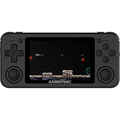 BITTBOY RG351P Black Retro Gaming Handheld; Quad-Core RK3226 CPU; 480x320 IPS Display; Wi-Fi Enabled; 3500mAh Battery [RG351P-BLACK]