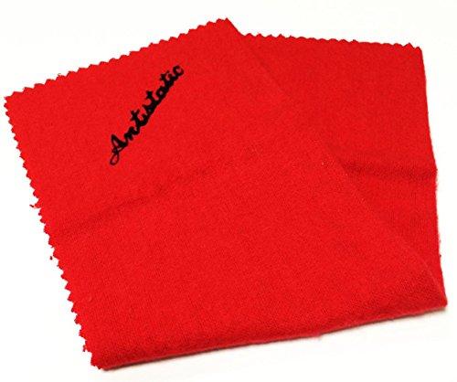 Analogis panno antistatico rosso (21,2 cm x 13,2 cm)