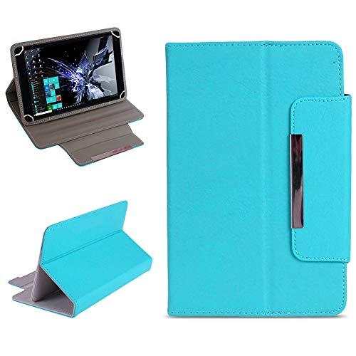NAUC Tablet Tasche für TrekStor Surftab Breeze 7.0 Hülle Schutzhülle Hülle Cover Etui, Farben:Hellblau