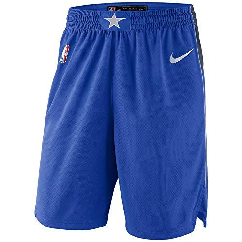Nike DAL M NK SWGMN Short Road 18 - Pantalón Corto, Hombre, Azul(Game Royal/College Navy/FLT Silver/White)